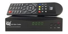 Новинки бюджетных ресиверов: Ресивер GI HD Slim Combo