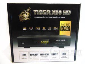 Прошивка Tiger X90 HD
