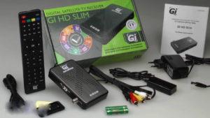 Миниатюрный приемник Gi HD Slim от Galaxy Innovations
