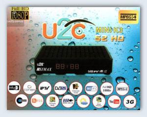 Прошивка U2C simax  K3 mini 2018, список каналов, ключи